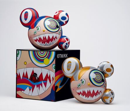 Takashi Murakami, 'Mr DOB Figure By BAIT x SWITCH Collectibles - Set of 2 (Gold & Red)', 2016