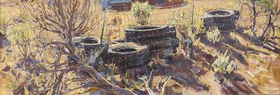 Ron Arthaud, 'Modern Cow Fence'