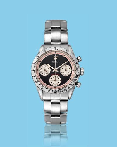 "Rolex, 'Stainless steel chronograph ""Paul Newman"" Daytona, ref. 6262'"