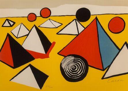 Alexander Calder, 'Pyramids and Circles'