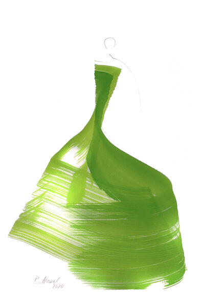 Bettina Mauel, 'The Green Dress 10', 2020