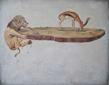 Tony Geiger, 'Lion Diorama', 2010