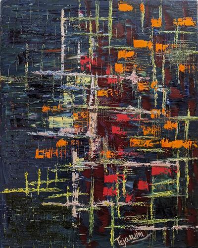 """Alpana Mittal """"Tejaswini"""", 'Abstract # 01', 2020"""