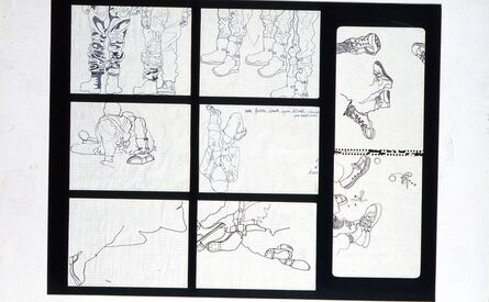 Antoni Miralda, 'Cuaderno Castillejos #3 (discreto)', 1965