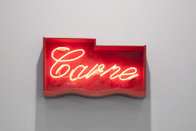 Flavio Favelli, 'Carne', 2015
