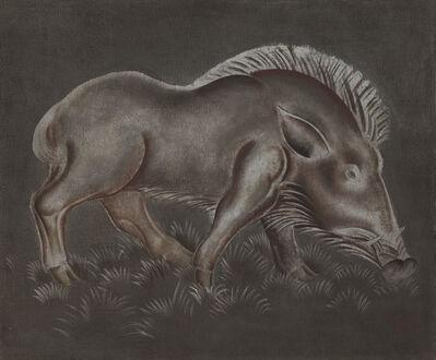 Camille Roche, 'Boar', ca. 1930
