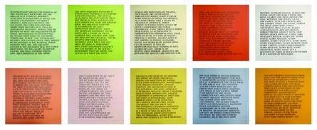 Jenny Holzer, 'Inflammatory Essays I', 1982