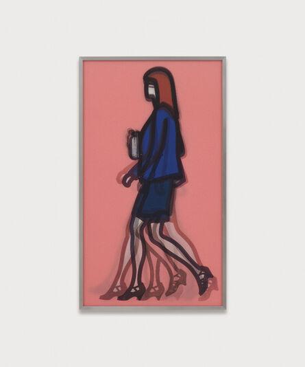 """Julian Opie, '""""Lawyer"""" from """"Walking in London 1."""" ', 2014"""