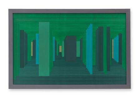 Janaina Mello Landini, 'Labirintos Rizomáticos - série VI (Venice - North)', 2018