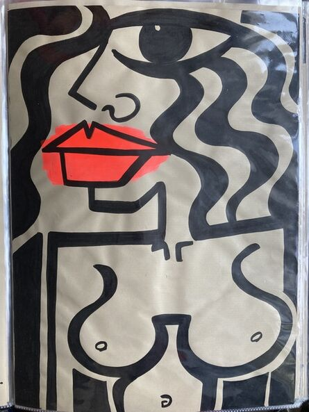 Anna Laurini, 'She on craft #1 A3 ', 2018