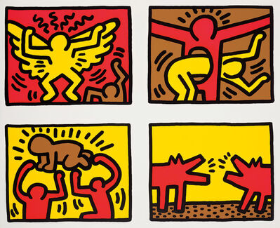 Keith Haring, 'Pop Shop Quad IV', 1989/1995