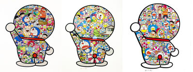 Takashi Murakami, 'Doraemon Print (Set of 3)', 2019