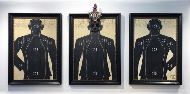 Markus Pierson, 'The Eccentric One (Triptych)', 2013