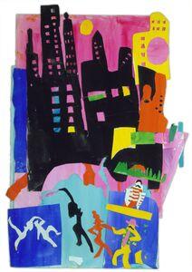 Bob Kane (1937-2013), 'Tenth Avenue', 1999