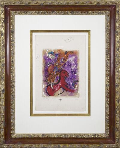 Marc Chagall, 'L'Écuyère au cheval rouge', 1957