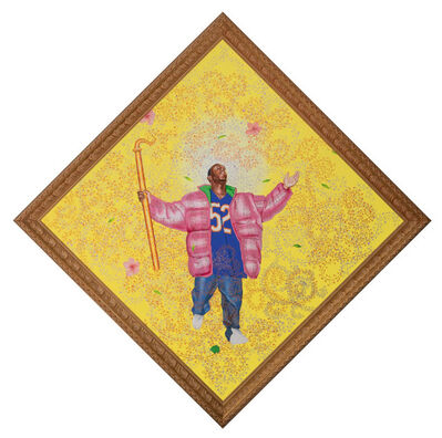 Kehinde Wiley, 'Oil on canvas in artist's frame', 2004