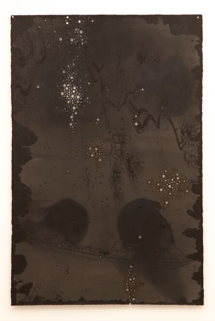 Lindy Lee, 'Reaching for the Moon in Water', 2018
