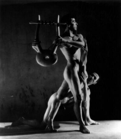 George Platt Lynes, 'Orpheus (Nicolas Magallanes and Francisco Moncion)', 1948