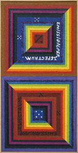 Alfred Jensen, 'Emission Spectrum', 1975