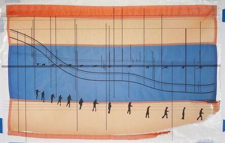 Guillermo Galindo, 'Caravan Flag/Bandera de caravana', 2015