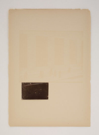Alison Rossiter, 'Camera Work Number XLVlll, October 1916, plate page Strand', 2016