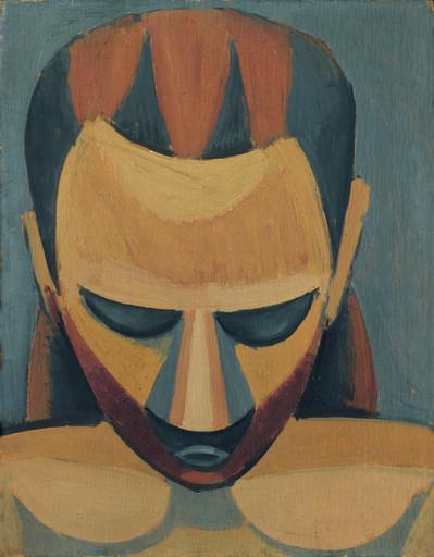 Pablo Picasso, 'Tête d'homme', 1908