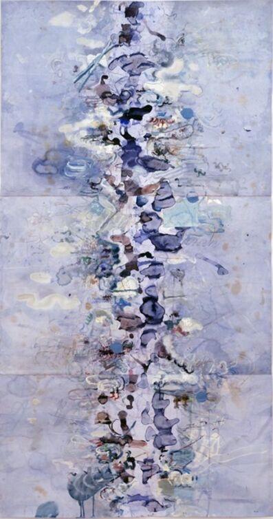 David Scher, 'Untitled (Blue Scroll II)', 2014