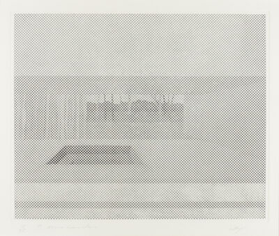 William Tillyer, 'Mrs. Lumsden's', 1971