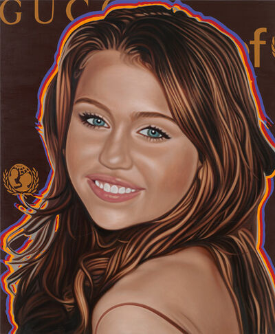 Richard Phillips, 'Most Wanted (Miley Cyrus)', 2010