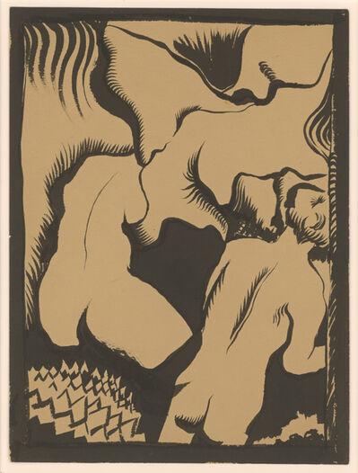 Samuel Joseph Brown, 'Adam & Eve', 1937