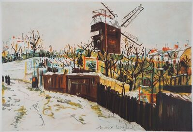 Maurice Utrillo, 'Moulin de la Galette à Montmartre', 1980-1989