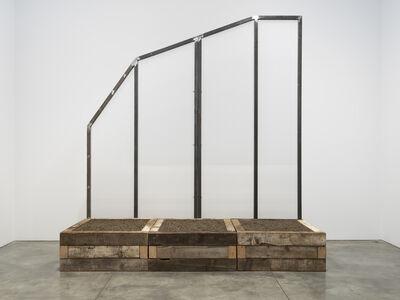 Oscar Tuazon, 'Winona's Hemp Wall', 2018