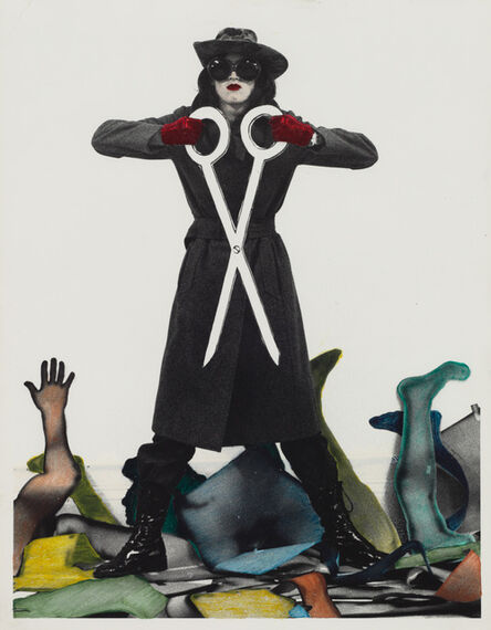 Kiki Kogelnik, 'Untitled (Woman's Lib)', ca. 1971