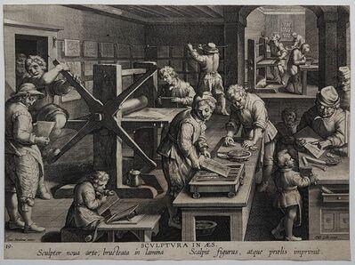 Jan van der Straet, 'Sculptura in æs', ca. 1591