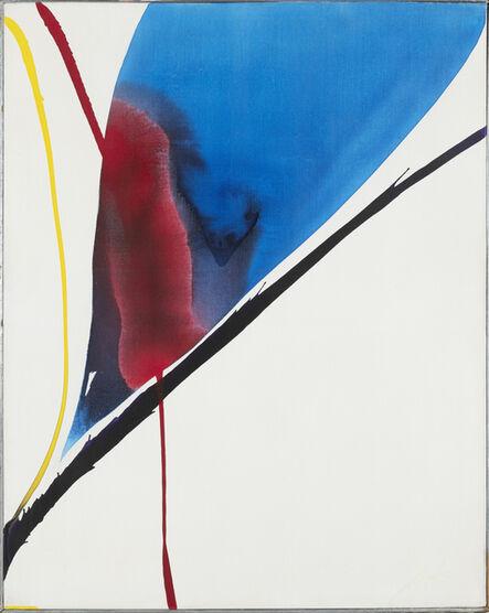 Paul Jenkins, 'Phenomena on way back', 1963