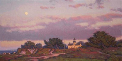 Jim Lamb, 'Moon Over Monterey Bay', 2010