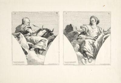 Giovanni Domenico Tiepolo, '[Four evangelists]', 1743