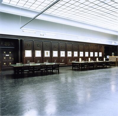 Candida Höfer, 'Hamburger Kunsthalle III', 2000
