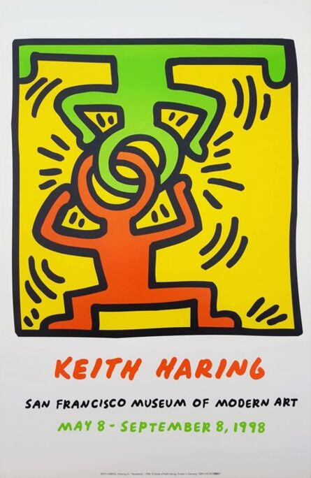 Keith Haring, 'SFMOMA (Headstand)', 1998