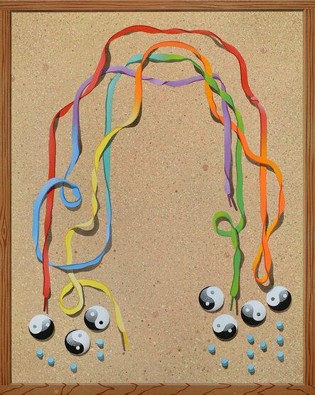 Casey Gray, 'Trompe l'oeil with Rainbow', 2017
