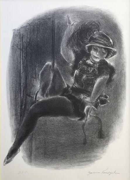 Yasuo Kuniyoshi, 'Circus Girl With Plumed Hat', 1933
