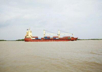 Victoria Sambunaris, 'Untitled (General Cargo, Tanto Bagus formally UAL Coburg, Indonesia), Houston Ship Channel, Texas', 2016