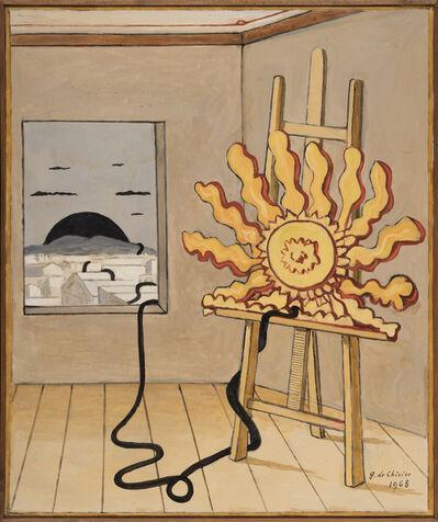 Giorgio de Chirico, 'Sole sul cavaletto', 1968