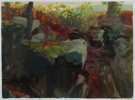 Kristin Musgnug, 'Study for Devil's Den Rocks #2', 2012