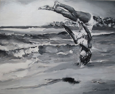 Santiago Ydañez, 'Salto cabeza abajo', 2015