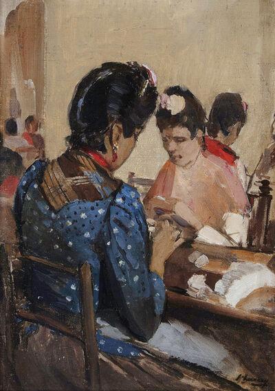 Sir John Lavery, 'Cigarette Makers in Seville', ca. 1892