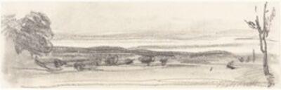 John Burgess, 'A View across the Park, Chatsworth, Derbyshire'