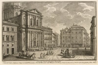 Giuseppe Vasi, 'Casa dei Chierici Regolari Barnabiti', 1747-1801