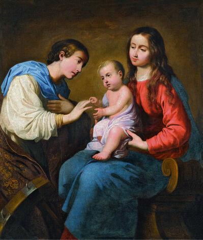Francisco de Zurbarán, 'Desposorios místicos de Santa Catalina de Alejandría (The Mystic Marriage of Saint Catherine of Alexandria)', 1660-1662