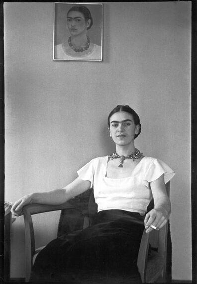 Lucienne Bloch, 'Frida at the Barbizon Plaza Hotel', 1932